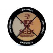 Corrector w7, Hide N Seek